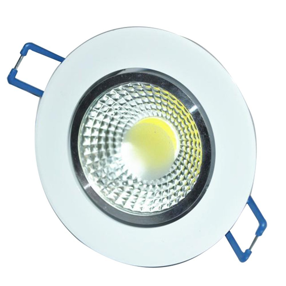 1pc 2018 Newest 7W 9W 12W LED COB chip downlight Recessed LED Ceiling light Spot Light Lamp White/ warm white led lamp 12w 3500k 1050 lumen 12 led warm white light ceiling down lamp ac 100 245v