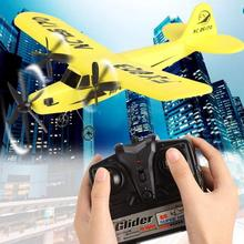 2.4G Upgraded RC Airplane RTF Plane Glider Airplane EPP Foam RTF 2CH HL803 rc airplane Kid Toys