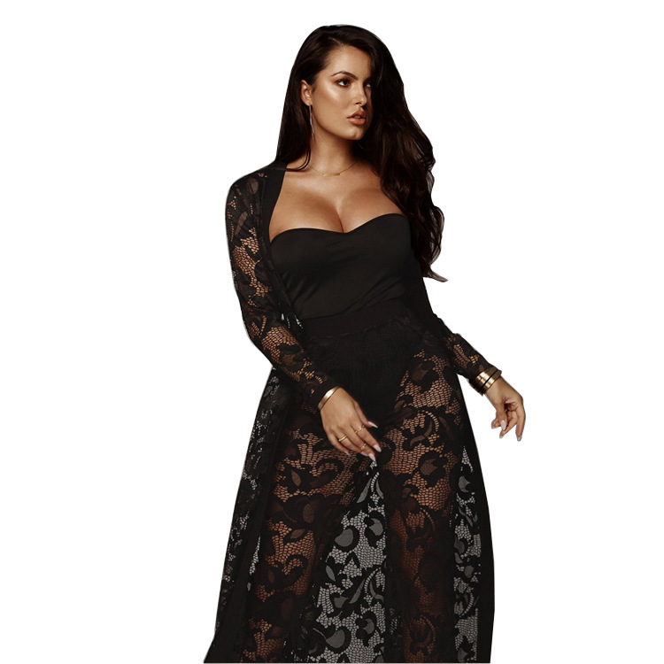 Brand Style Lace Tracksuit Set Women Two Pieces Solid Bow Sashes 2 Pieces Outfits For Women Sexy Club Women Set NK9225