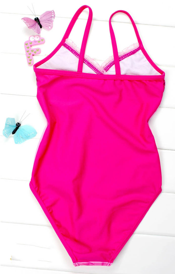 26b9115227 2015 summer new arrival barbie children swimsuit one piece one colour  chiffons sling girls swimwear kids fashion on Aliexpress.com