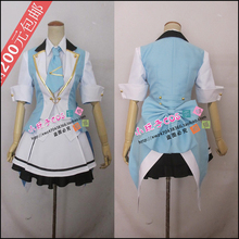 Free Transport AKB0048 Oshima Yuko Cosplay Costumes Blue and White Lolita Costume Christmas Halloween Social gathering Swimsuit Uniform