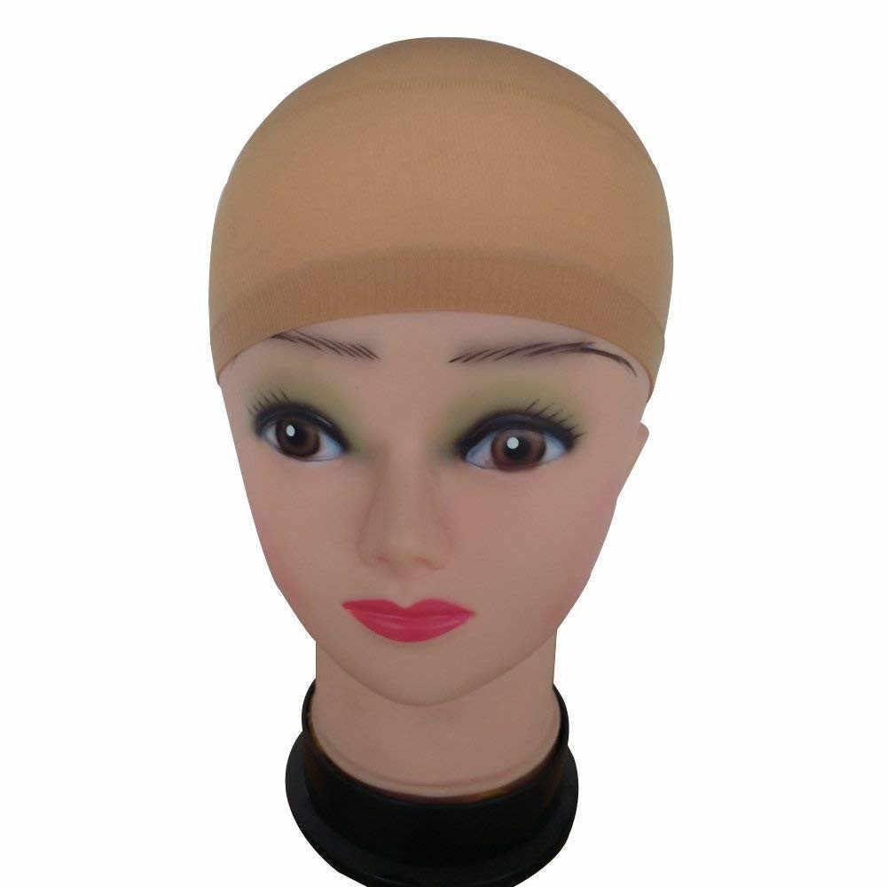 2 шт. сетка для волос парик Кепка сетки для волос укладчик париков Hairnet Snood бесклеевая шапка парик эластичная растягивающаяся сетка для волос аксессуар для укладки
