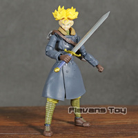 SHF SHFiguarts Dragon Ball Z Trunks Xenoverse Edition PVC Action Figure Collectible Model Toy