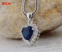 925 Vintage ocean crystal small female Pendant 029621w
