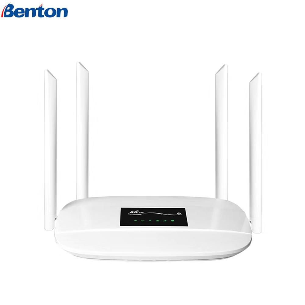 300 Mbps 4G LTE Wifi routeur sans fil CPE WiFi Mobile jusqu'à 32 utilisateurs wifi largement couverture wifi avec fente pour carte SIM pour la maison/extérieur