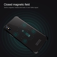 NILLKIN New Tempered Magnet Wireless Receiver Case For IPhone X Case Cover For Apple IPhone X