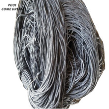 POUI COME DREAM Wrapped iron sinker for fishing net Finland gill Fishnet accessories Environmental protection