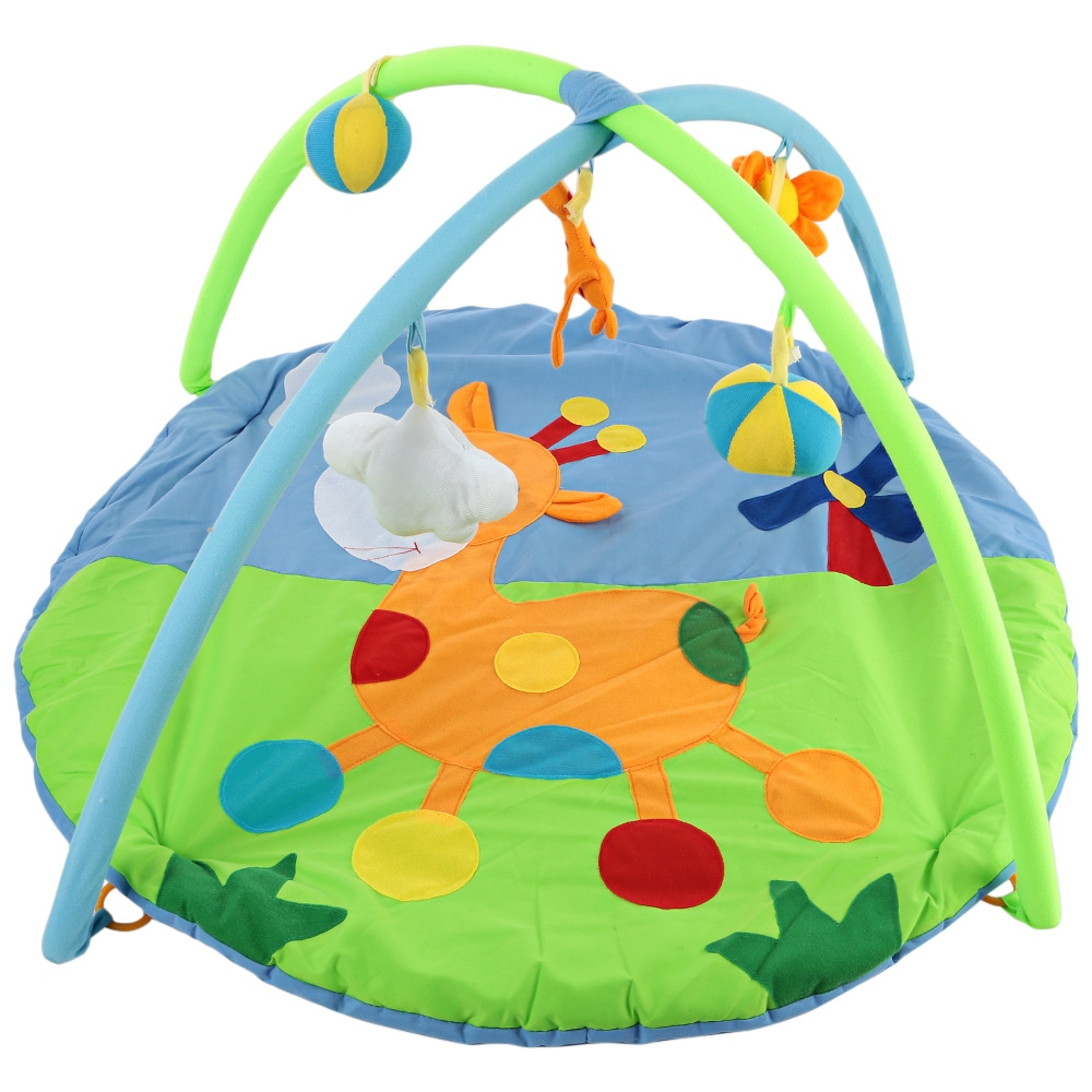 Baby Soft Play Mat Deer Gym Blanket with Frame Rattle Crawling Toy Educational Fitness Bracket Toys Game Mats Kids Xmas Gifts-in Play Mats from Toys ...  sc 1 st  AliExpress.com & Baby Soft Play Mat Deer Gym Blanket with Frame Rattle Crawling Toy ...