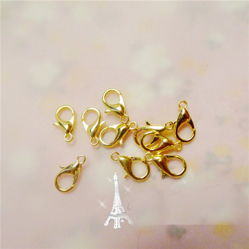 Lobster Clasps Claw Trigger Hook Buckle for Necklace Bracelet Cord Connector