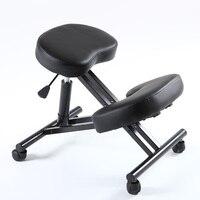 Эргономичный дизайн колено стул кожа офис ортопедическое кресло эргономичный кресло для выправления осанки идеально подходит для шеи, поз