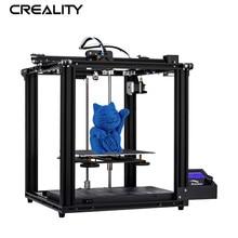 Crealité 3D Ender 5 imprimante Core XY Stucture V1.1.4 carte mère ajouter plaque de verre en option avec mise hors tension reprendre imprimante Kit de bricolage