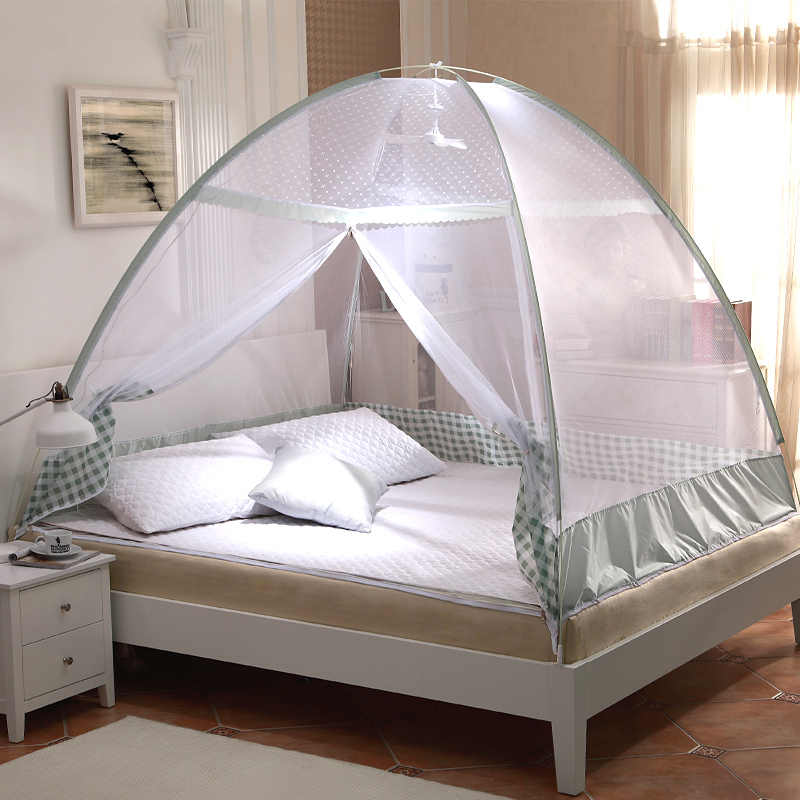 Hot Sale Folding Purple Mosquito Netting,Green Brown Double Bed Mosquito Net for Adult,New Summer Bedding Portabel Mosquito Nets