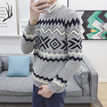 2016 New Brand Men Wool Sweater Autumn Winter O-neck Thick Kintwear Pullover Christmas Mens Sweaters High Quality