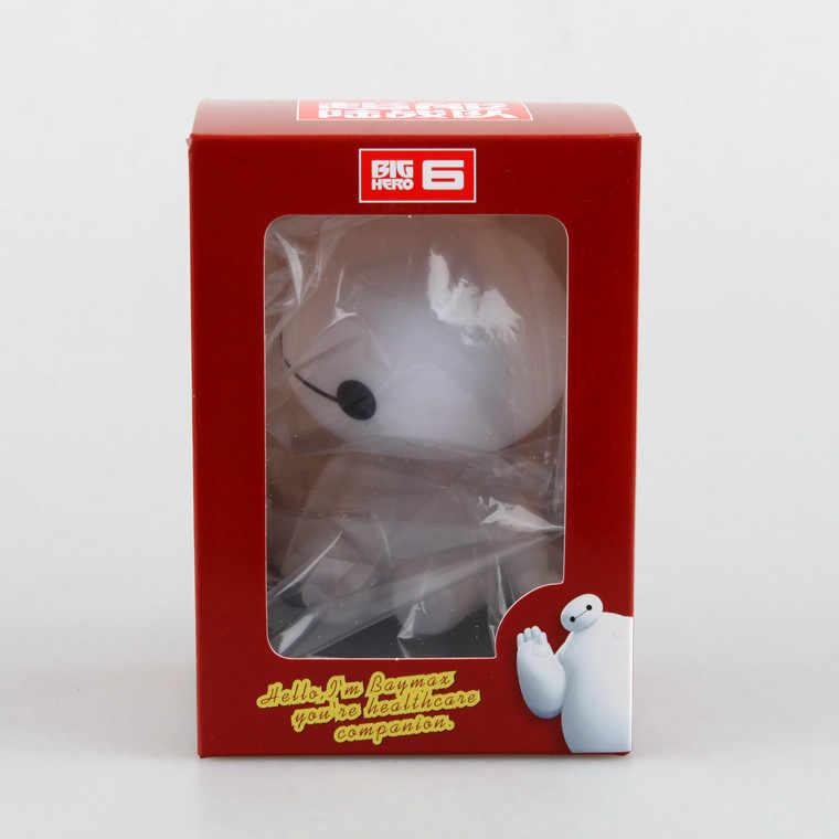 Huong Anime 10 CM Grande Eroe 6 Baymax PVC Figure Da Collezione Modello Giocattoli Regalo Bambola