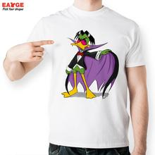 [EATGE]Evil Duckula T Shirt Design Inspired By Cartoon T-shirt Style Cool Fashion Casual Novelty Funny Men Women Printed Tee