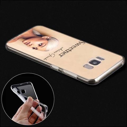 Case for Samsung Galaxy Note 8 9 S10e S10 5G S9 S8 Plus M10 M20 M30 S7 S6 Soft TPU Phone Cover shell Thank U Next Ariana Grande Karachi