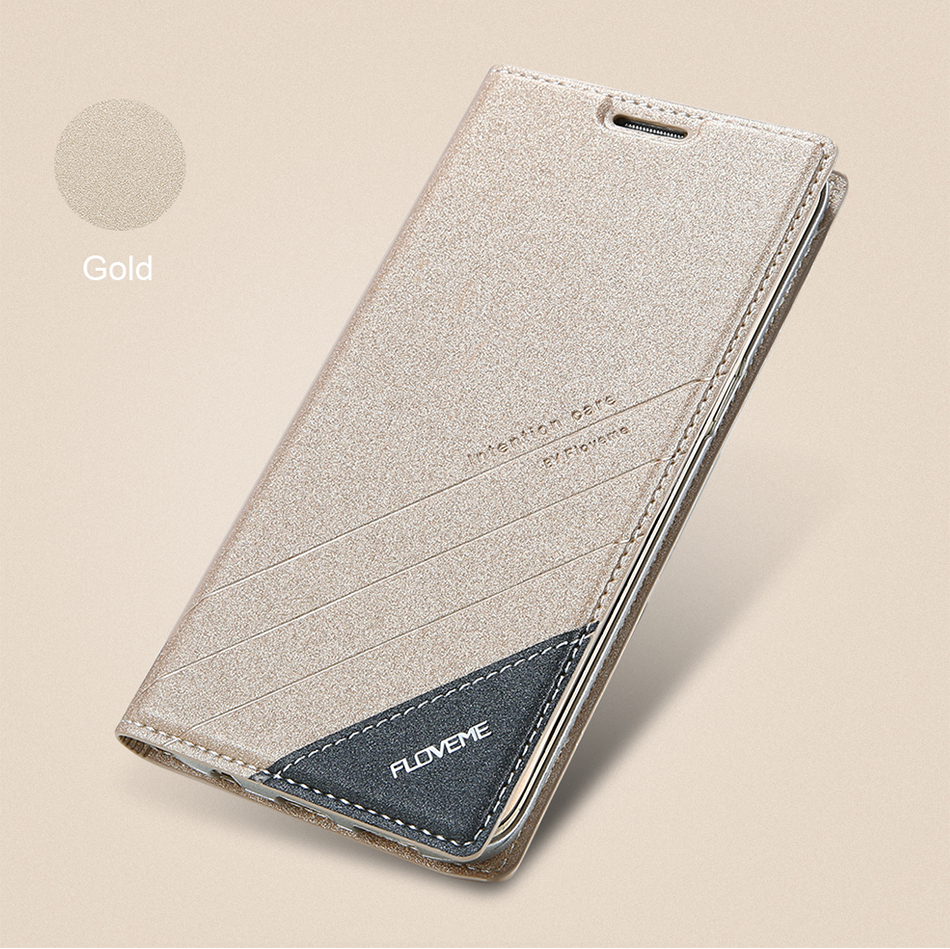 Magnetic Flip Leather Case For iPhone 5 6 7 Plus Card Slot Cover S8 BOB (3)