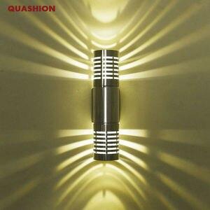 Image 1 - 현대 led 벽 조명 벽 램프 sconces 위아래로 홀 침실 복도 램프 화장실 욕실 장식에 대 한 led 벽 램프