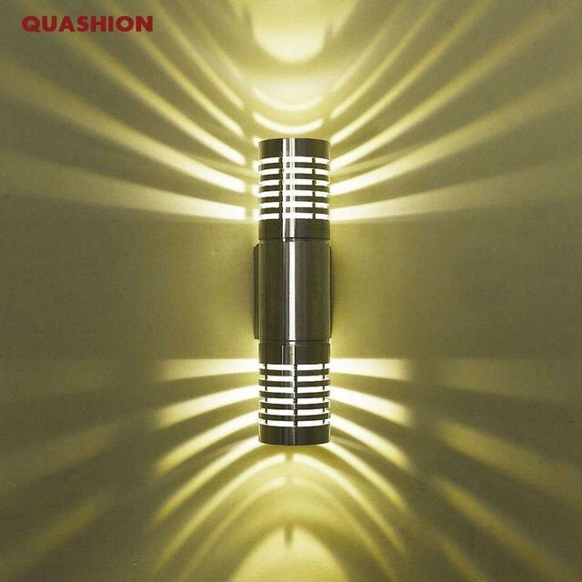 현대 led 벽 조명 벽 램프 sconces 위아래로 홀 침실 복도 램프 화장실 욕실 장식에 대 한 led 벽 램프