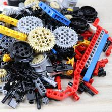 ZXZ Technic Parts Bulk Building Blocks Gear Rack MOC Car Accessory Pin Connector Bricks Toy Compatible With Legoes Technic(China)