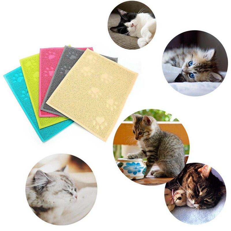1 PCS Cat Litter Mat Placemat Cleaning Carpet Pet Puppy Dog Claws Pet Small Footprint Foot Sleeping Pad