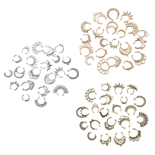 Hot Sale 21pcs Nose Fake Septum Ring Clip On