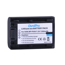 1PC 1200mAH NP-FV50 NP FV50 Li-ion Camera Battery For Sony NP-FV30 NP-FV40 HDR-CX150E HDR-CX170 HDR-CX300 HDR CX390 290 Camera