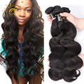 4pcs/lot Malaysian Body Wave Bundles 8A Mink Malaysian Virgin Hair Weave Sunlight Hair Company Best Human Hair Weave Brand Sale