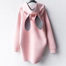 Одежда для беременных, топы, женские толстовки, плюс свитер, худи с кроличьими ушками, велюровые костюмы, весна, осень, зима, Одежда для беременных