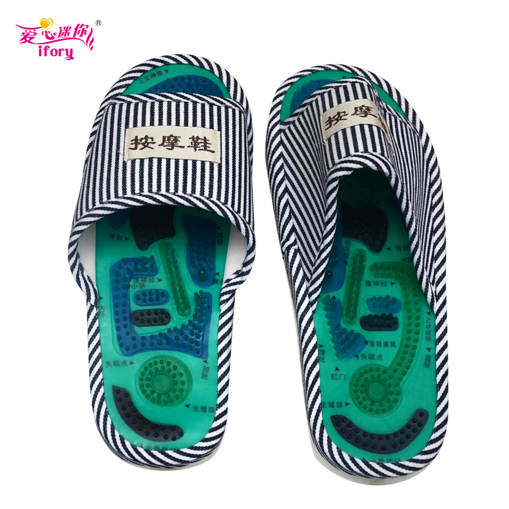 IFORY Foot Massage Slippers Health Shoe Promote Blood Circulation Relaxation Health Foot Care Shoes Release Stress Pain Relief electric antistress therapy rollers shiatsu kneading foot legs arms massager vibrator foot massage machine foot care device hot