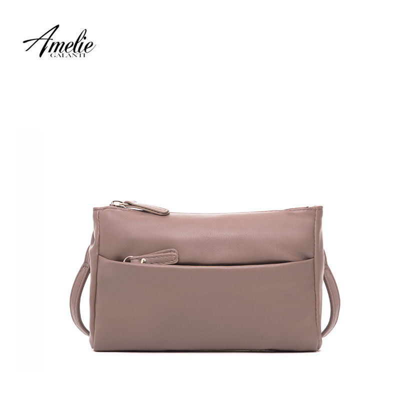 AMELIE GALANTI woman crossbody bags casual messenger bags bolsos chain bagshigh quality PU solid vintage flap 2017 купальник amelie im68n41 imis