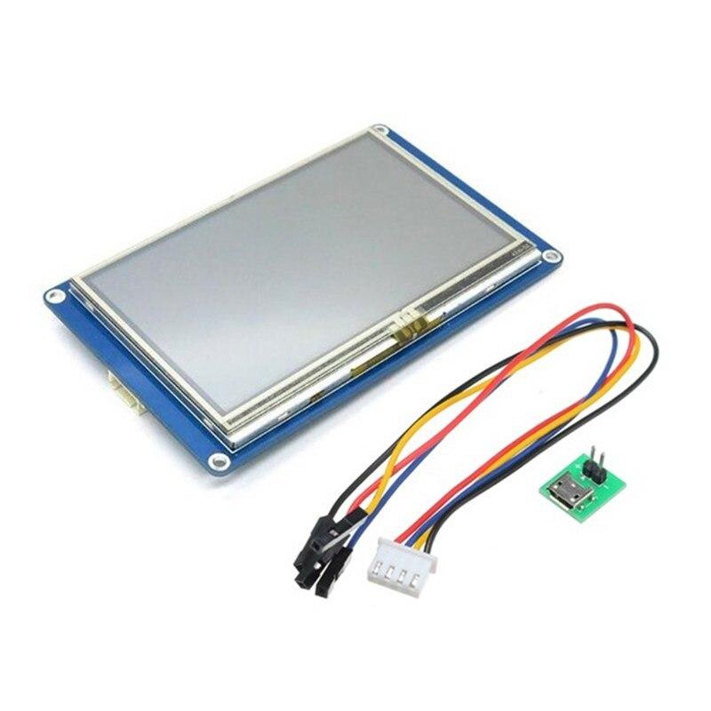 """4.3 """"HMI в умных усапп по UART серийный сенсорный экран TFT жк-дисплей модуль дисплей панель для малина Pi 2 и Arduino для наборы"""