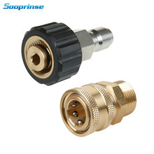 Sooprinse High Pressure Washer Adapter Set,Quick Connect Kit,5000 PSI M22 14mm Swivel to M22 Metric Fitting car accessories 2019