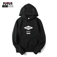 XS 3XL Unisex Spain Madrid City Logo Print Hoodies Soft Hip Hop Hipster Autumn Hooded Sweatshirts