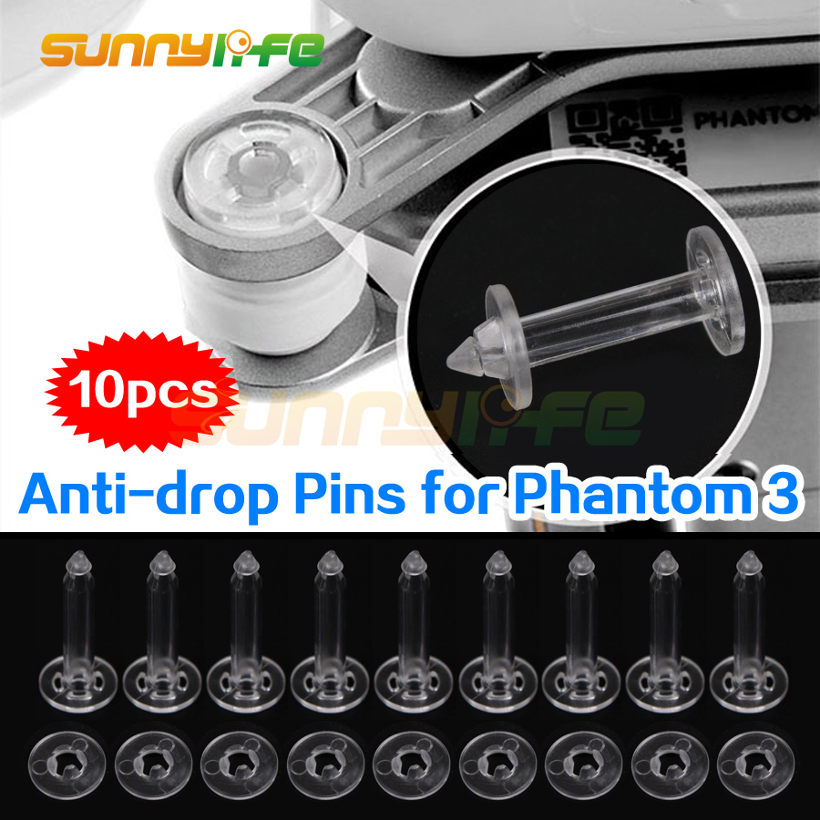 10pcs Gimbal Anti Drop Pins Mounts Nuts Securing Kit Gimbal Anti Vibration for DJI Phantom 3