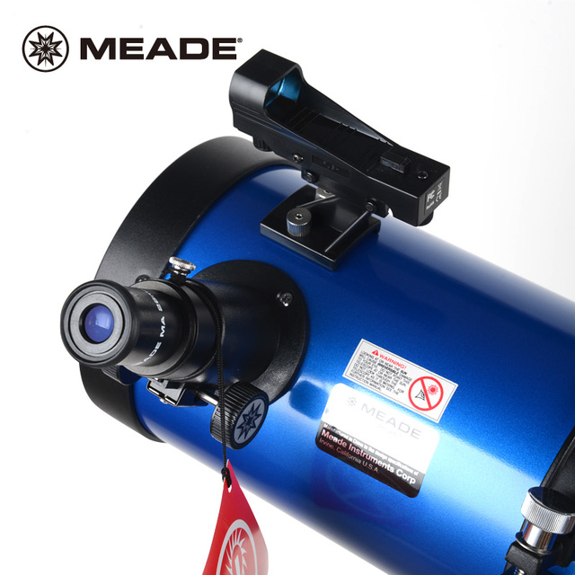 MEADE POLARIS 130EQ Astronomical Reflector Telescope Professional Deep Space Viewing Star Moon HD Adult Student Popular Science