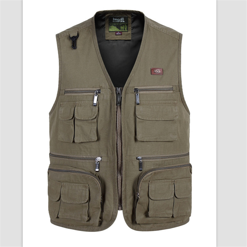 aeProduct.getSubject()  Mens Multi Bag Pockets Out of doors Fishing Vest Strong Shade Photographic Waistcoats for Out of doors Sport Lover HTB1tDJ