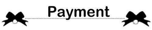 payment..