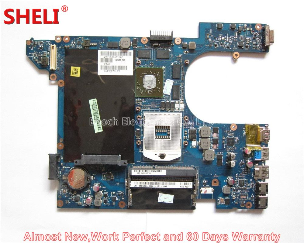SHELI For Dell Inspiron 15R 5520 Series Laptop Motherboard CN-06D5DG 6D5DG 06D5DG QCL00 LA-8241P HM77 HD7600M Work Perfect nokotion brand new qcl00 la 8241p cn 06d5dg 06d5dg 6d5dg for dell inspiron 15r 5520 laptop motherboard hd7670m 1gb graphics