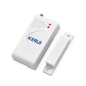 Image 3 - Kerui 3 pçs/lote 433mhz sem fio sensor de abertura alarme em casa janela segurança/sensor porta gap detector para gsm pstn sistemas alarme