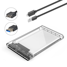 ELUTENG HDD Case 2.5 Inch USB 3.0 to SATA Adapter Box UASP 5Gbps Tool Free Enclosure for SSD or HDD External Hard Drive Disk