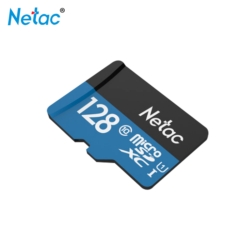 Black / Blue Micro SD Card 128GB Netac Memory Card 128gb Trans Flash Card Class 10 TF Card for Phone Tablet Free Shipping ssk scrm 060 multi in one usb 2 0 card reader for sd ms micro sd tf white