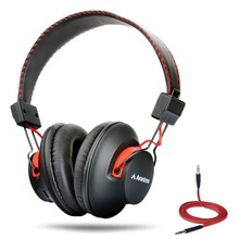 Avantree DEEP BASS Bluetooth Over Ear Headphones 3 5mm Audio In Wireless or Wired Easy Pair