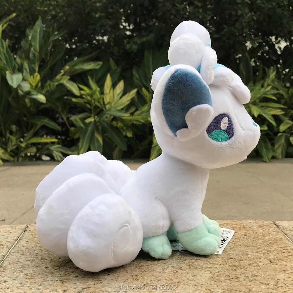 "High Quality Alola Vulpix 8.5/"" Plush Six Tail Stuffed Toy"