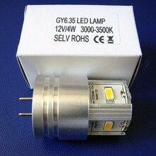 High quality 12v 4w GY6.35 led reading lights,24v G6.35 led bulb,led GU6.35 light free shipping 6pcs/lot