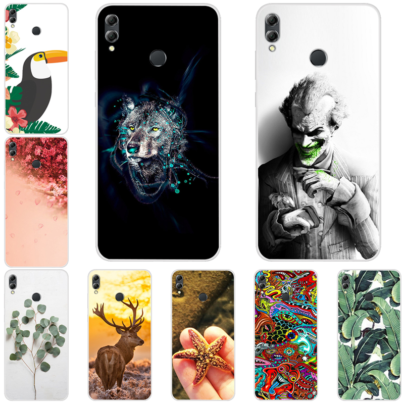For Huawei <font><b>Honor</b></font> <font><b>8x</b></font> Max Case Silicone Phone Cover Coque Honor8x Global 32GB <font><b>64GB</b></font> 128GB Anime Funda Honor8xMAX Clear TPU ky303 image