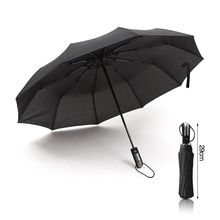 SILIKOLOVE Fully Automatic Commercial Men Travel Business Car Umbrellas Male Female Windproof Wind Resistant Aluminium Alloy