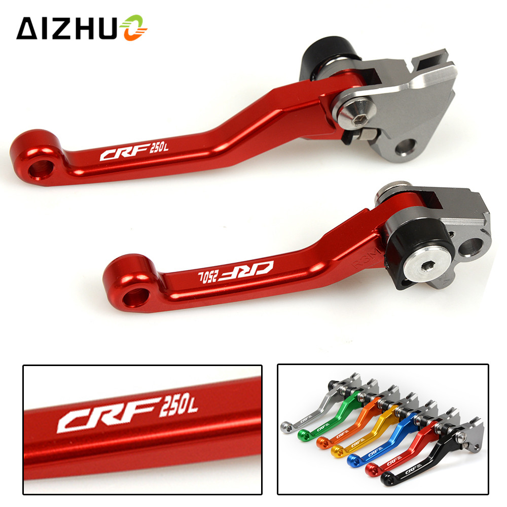 CNC Aluminum Motorcycle Motocross dirt bike Pivot Brake Clutch Levers for honda CRF250L <font><b>CRF</b></font> 250 L <font><b>CRF</b></font> 250L <font><b>2012</b></font> 2013 2014 2015 image