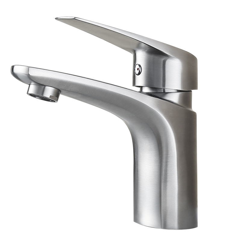 Sus304 Stainless Steel Kitchen Faucets Brushed Mixer Water: BLH 525 Quality Bathroom Brushed Stainless Steel SUS 304