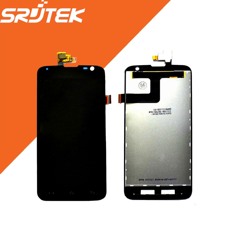 New 5 Black 1280x720 For ZTE V972 LCD Display + Touch Screen Digitizer Assembly For ZTE Leo S1 V972M Replacement Parts